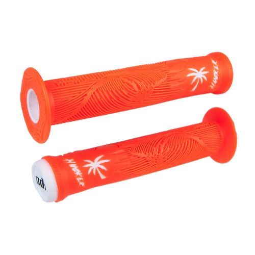 ODI Hucker FL Grips Orange/White